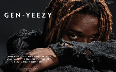 Gen-Yeezy, lookbook Kanyeho kolekcie adidas Originals Season One so štvoricou mladých interpretov
