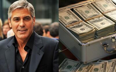 George Clooney daroval 14 kamarádům po 1 milionu za to, že mu pomohli uspět v Hollywoodu