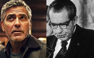 George Clooney natočí minisériu o politickom škandále Watergate, ktorý viedol k rezignácii prezidenta Nixona
