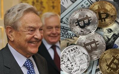 George Soros nazval kryptoměny bublinou, nyní do nich jde investovat. Z majetku ve výši 26 miliard by rád nakoupil pár digitálních mincí