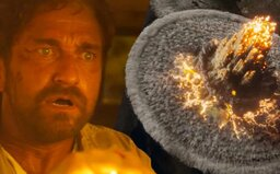 Gerard Butler uniká před padajícími meteority devastujícími celou planetu. Katastrofický thriller Greenland dostává skvělý trailer