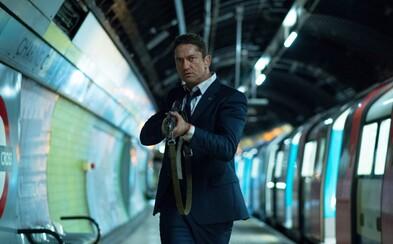 Gerard Butler znova zachraňuje amerického prezidenta v akčnom traileri pre London Has Fallen