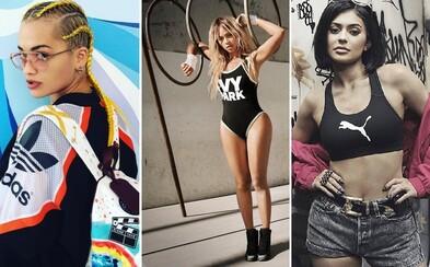 Gigi Hadid, Kylie Jenner, Beyoncé a další celebrity dokazují, že athleisure je na vrcholu