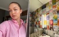 Gigi Hadid predizajnovala svoj dom do kontroverznejšieho štýlu. Ľudia sa nevedia dohodnúť, či má vkus.
