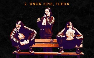 Gleb dnes odehraje první velký sólo koncert v Brně na Flédě. Doprovodí ho DJs Hypetrain, VI3E a crew Stale Malo