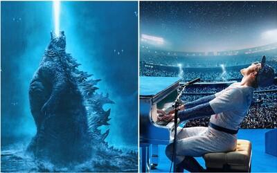 Godzilla je králem monster i tržeb. Porazila Aladina, Johna Wicka, Avengers i Detektiva Pikachu (Box Office)