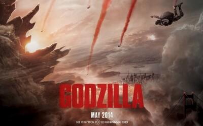 Godzilla v nových televíznych spotoch