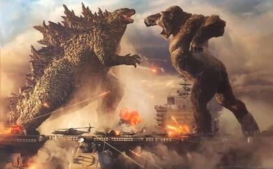 Godzilla vs. King Kong! Epický trailer láká na nejočekávanější souboj roku, který uvidíme i v kinech