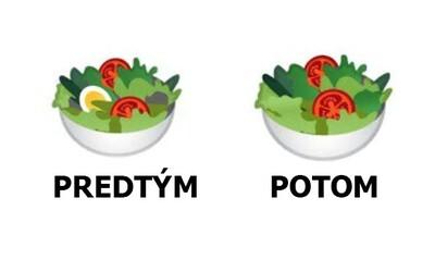 Google odstránilo zo šalátového emodži vajíčko, aby uspokojilo vegánov. Našli sa spokojní užívatelia, ale aj tvrdí kritici