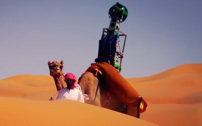 Google pripevnil kamery na 10-ročnú ťavu a spustil púštny Street View