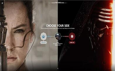 Google umožňuje naladiť sa na vlnu prichádzajúceho Star Wars zmenou grafiky v jeho aplikáciách. Ktorú stranu si zvolíš ty?