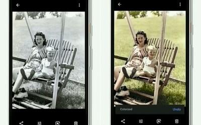 Google za tebe obarví černobílé fotografie přímo na tvém telefonu. Nová funkce se objeví již brzy