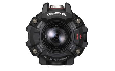 GoPro to bude mať opäť o čosi ťažšie. Nová akčná kamera Casio G'z Eye pripomína legendárne hodinky G-Shock