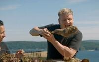 Gordon Ramsay naštval ochranáře, když ve své show upekl kozu, kterou sám zastřelil v divočině