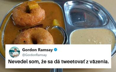 Gordon Ramsay stráca pri hodnotení amatérskych jedál fanúšikov na Twitteri akékoľvek zábrany. Svojou úprimnosťou nešetrí nikoho