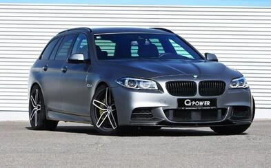 G-Power tvrdí, že jejich 435koňové BMW M550d je nejrychlejší naftové kombi planety