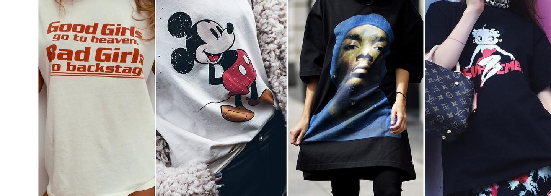 Grafická trička jsou in jako nikdy předtím. Vyhni se však těm nesmyslným z obchodního domu
