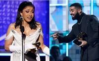 Grammy 2019: Country porazilo rap, zazářili aspoň Cardi B a Drake