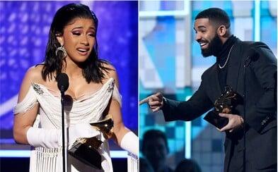 Grammy 2019: Country porazilo rap, zažiarili aspoň Cardi B a Drake