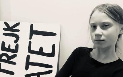 Greta Thunberg nepotřebuje masku na Halloween: Odporovatele klimatické krize starším i tak, tvrdí aktivistka