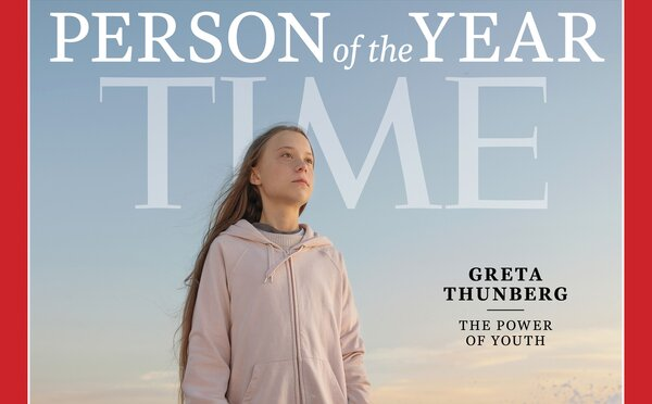 Greta Thunberg se stala osobností roku 2019 podle časopisu Time