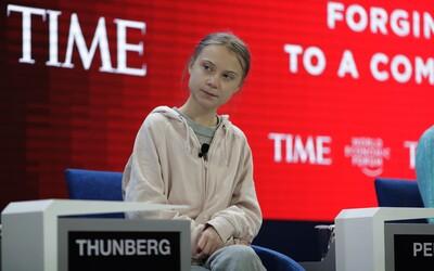 Greta Thunberg v Davose: Pre klímu sme neurobili nič