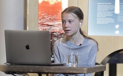 Greta Thunberg věnovala 2,5 milionu korun dětem ohroženým koronavirem