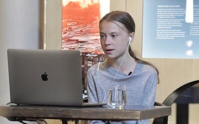 Greta Thunberg venovala vyše 90 000 € deťom ohrozeným koronavírusom