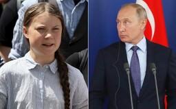 Greta Thunberg vrací úder Putinovi, přes Twitter mu posílá rafinovaný vzkaz
