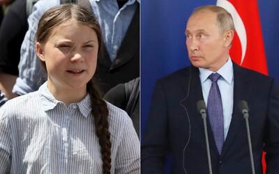 Greta Thunberg vracia úder Putinovi, cez Twitter mu posiela rafinovaný odkaz