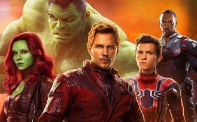 Groot nešetrí v nových záberoch z Infinity War nadávkami a Iron Man ukazuje svoj oblek, ktorý mu vyrastá priamo z tela