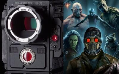 Guardians of the Galaxy 2 sa bude natáčať kamerou s rozlíšením 8K