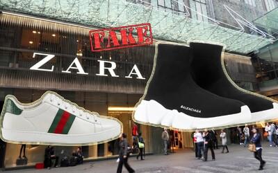 Gucci, Balenciaga nebo Nike. Zara se pořád nestydí kopírovat tenisky známých značek