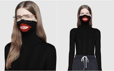 Gucci čelí rasistickému škandálu. Luxusná značka navrhla rolák znázorňujúci karikatúru černošskej tváre