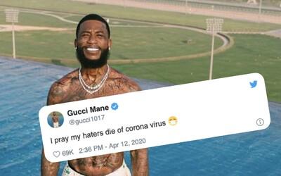 Gucci Mane naštval fanoušky: Modlím se, aby moji hejtři zemřeli na koronavirus