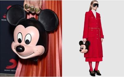 Gucci predstavilo bizarnú 3D kabelku v tvare hlavy Mickey Mousa, za ktorú si pýta 4 000 €