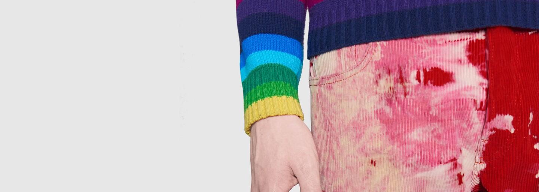 Gucci sa pridáva ku nelichotivému trendu špinavého oblečenia. Džínsy a menčestrové nohavice značka zámerne znehodnocuje rôznym spôsobom
