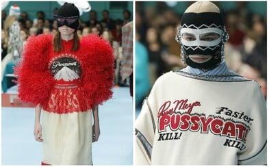 Gucci v kampani podzim/zima 2018 sází na kombinaci infantilnosti a okázalosti. Značce jako modelové posloužili vášniví sběratelé