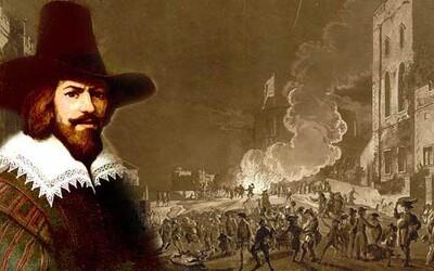 Guy Fawkes:  Sprisahanie pušného prachu, ktoré malo zmasakrovať vládnucu elitu