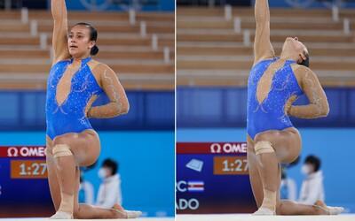 Gymnastka podporila počas vystúpenia na olympiáde Black Lives Matter. Chce, aby mali všetci ľudia rovnaké práva