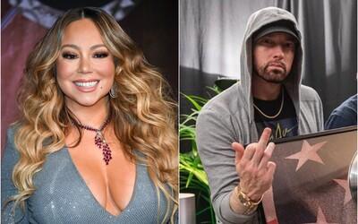 Hackeři získali twitterový účet Mariah Carey a útočí na Eminema. Prý má malý penis