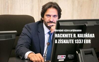 Hackni slovenského ministra vnútra a získaj sladkú finančnú odmenu. Prilepšiť si môžeš o viac ako 1 000 eur