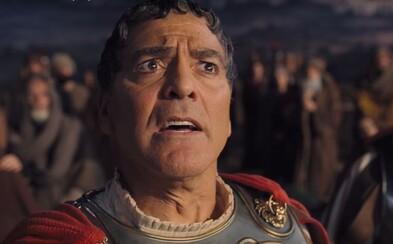 Hail Caesar: Komédia bratov Coenovcov stavia v úžasnom traileri Clooneyho a Channinga Tatuma proti Hollywoodu