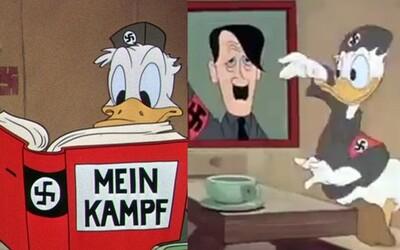 Hajlujúci Káčer Donald či Adolf Hitler v pekle, alebo ako vyzerala americká anti-nacistická propaganda počas druhej svetovej vojny
