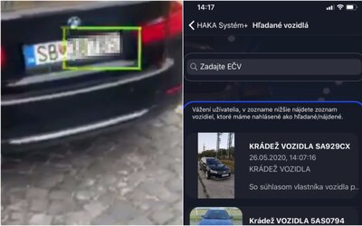 HAKA pripravuje mobilnú aplikáciu, ktorá odhalí kradnuté auto v reálnom čase. Bude skenovať ŠPZ a overovať ju v databáze