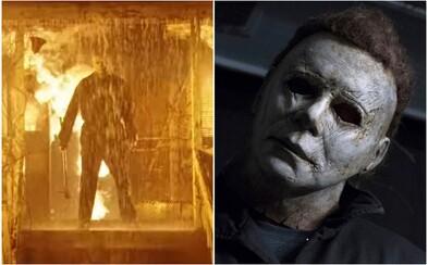 Halloween Kills uvidíme až na podzim 2021. První záběry odhalují zakrvácenou Laurie a Michaela Myerse v plamenech