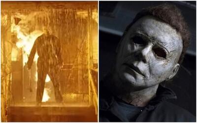 Halloween Kills uvidíme až na jeseň 2021. Prvé zábery odhaľujú zakrvavenú Laurie a Michaela Myersa v plameňoch