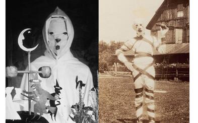 Halloweenske masky spred desiatok rokov vyzerali omnoho hrozivejšie než tie dnešné. Dokážu ti to fotografie z 19. a 20. storočia