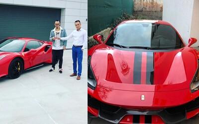 Hamšík si koupil nové auto. Jeho nové Ferrari dá stovku za 2,85 sekundy