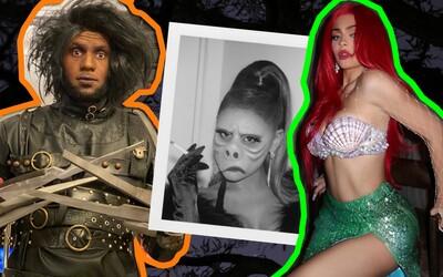 Harley Quinn, Billie Eilish alebo Kylie Jenner. Za koho sa prezliekli zahraničné celebrity počas Halloweenu?